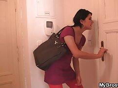 Làm một thành viên trong một Venus fursuit máy vắt phim set massage